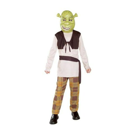 Shrek Babies Halloween Costumes (Shrek Child Costume - Small)