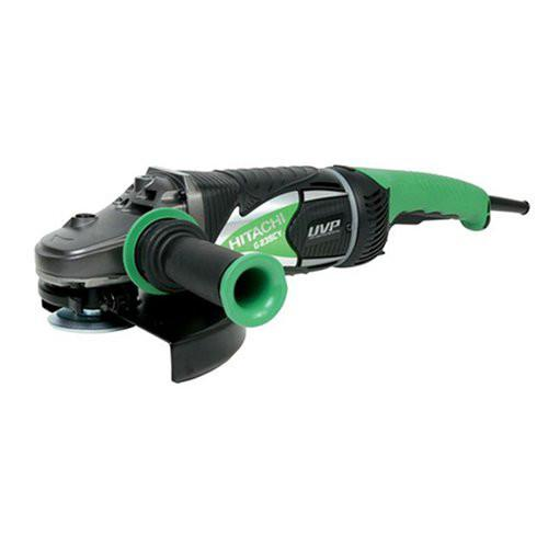 Hitachi G23SCY 15.0 Amp 9 in. Low Vibration AC\/DC Angle Grinder