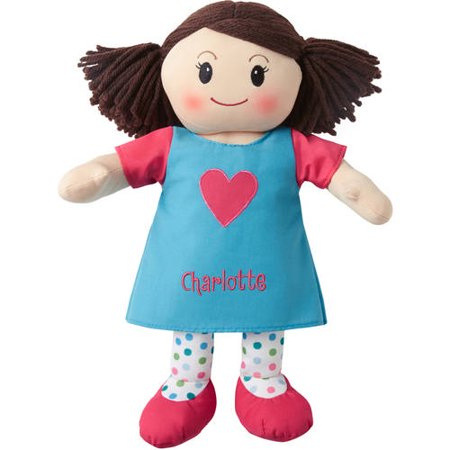 Personalized Super Sweet Rag Doll, Available in 3 Versions