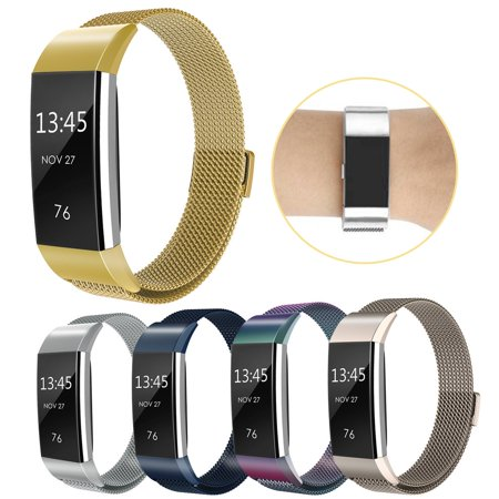 Replacement Magnetic Wrist Band Watch Strap Bracelet For Fitbit Charge 2 - image 5 of 9