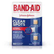 Bandages & Gauze: Band-Aid Tru-Stay Clear Spots
