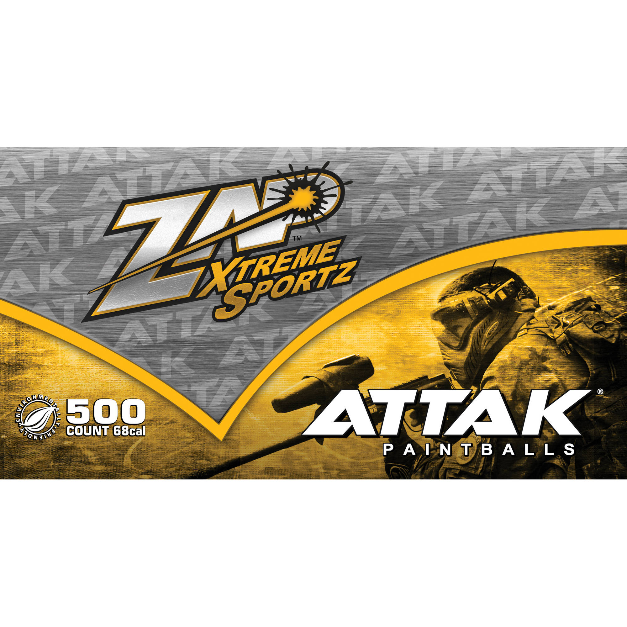 Zap Attak 500 ct Paintballs