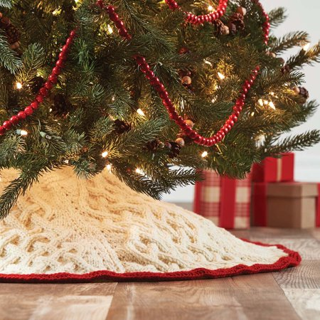 Merrily on High Tree Skirt Knit Pattern - Merrily On High Tree Skirt Knit Pattern - Walmart.com