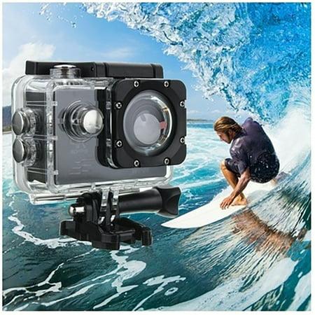 Waterproof DV SJ4000 HD 1080P Ultra Sports Action Camera DVR Helmet Cam Camcorder High-definition Digital Video Sport Camera (Helmet Action Cam)