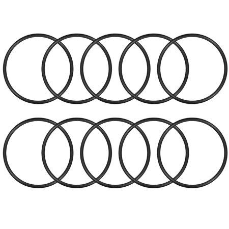 O-Rings Nitrile Rubber 34mm x 38mm x 2mm Seal Rings Sealing Gasket 10pcs