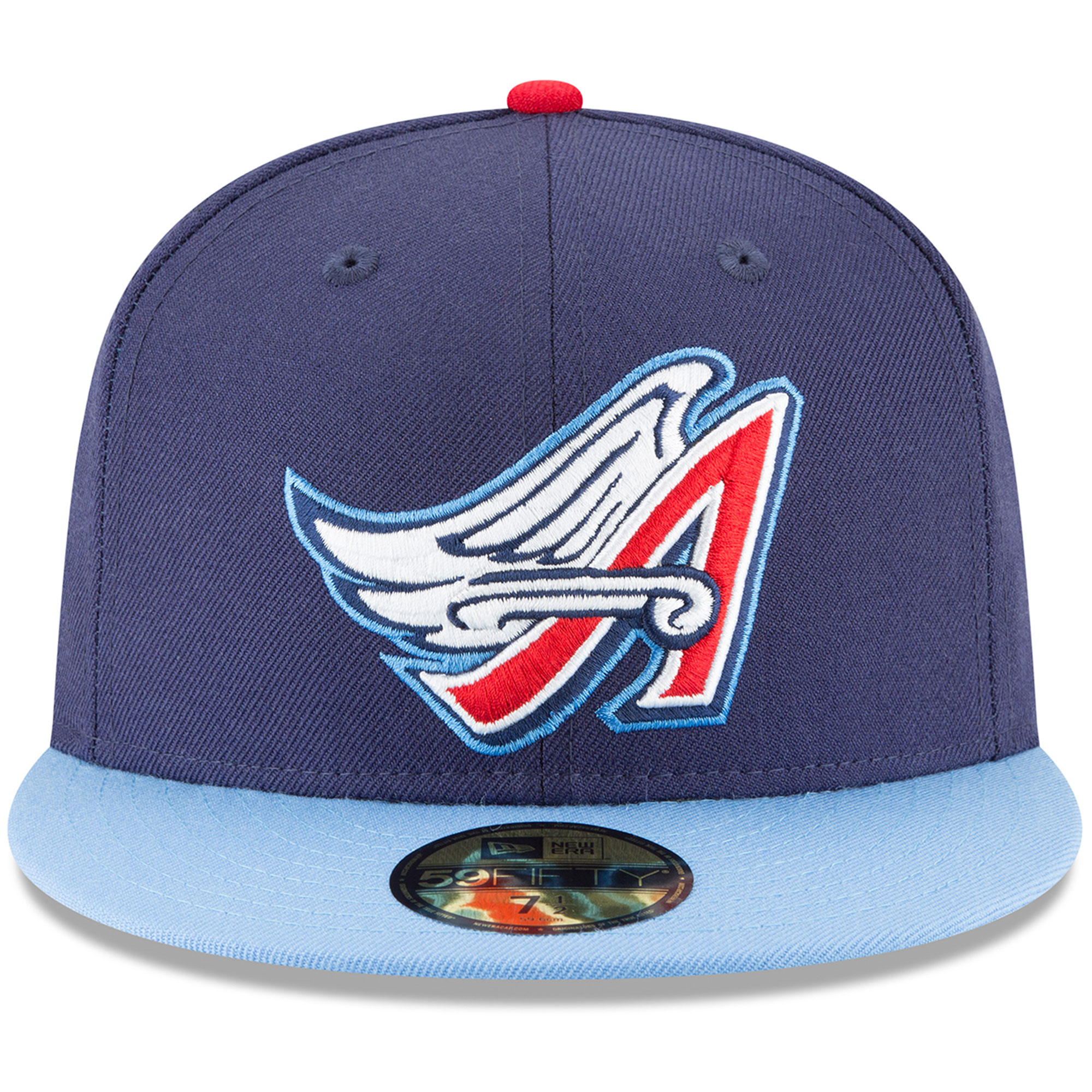 California Angels New Era Cooperstown Collection Wool 59FIFTY Fitted Hat -  Navy - Walmart.com e270beb066ef