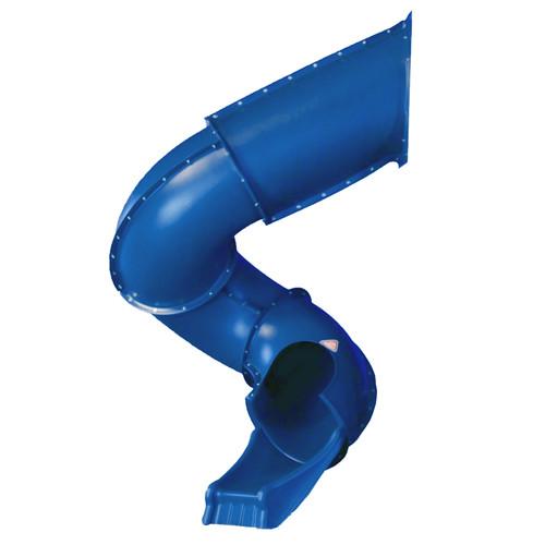 Swing-n-Slide Blue 7' Turbo Tube Slide with Lifetime Warranty