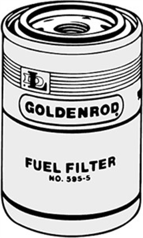 Goldenrod 595 5 Replacement Filter Canister For Use With 595 Model