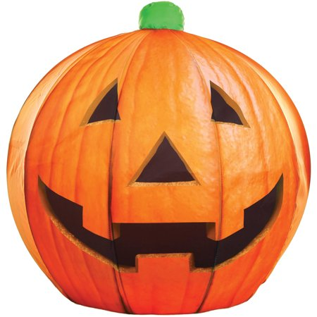 Instant Jack O Lantern Photo Real Halloween Decoration - Union Jack Decorations