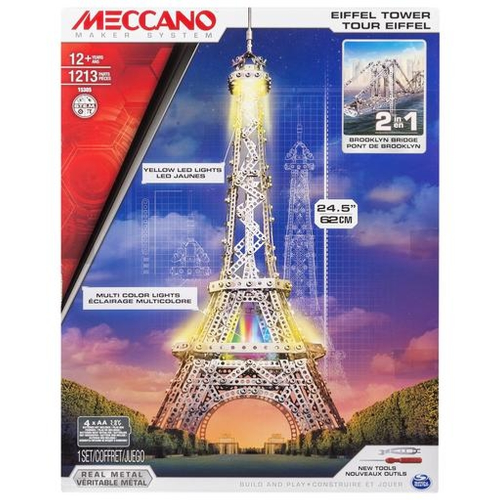 Meccano Eiffel Tower,  France by Spin Master