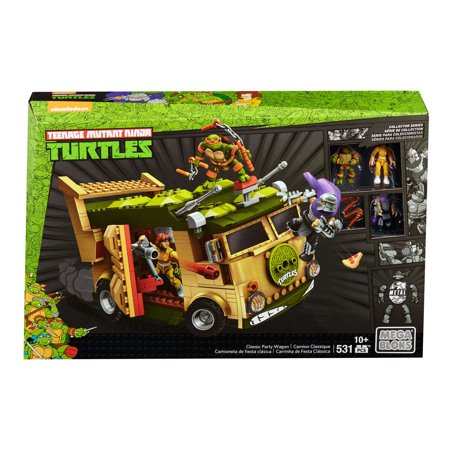 Mega Construx Teenage Mutant Ninja Turtles Classic Party Wagon for $<!---->