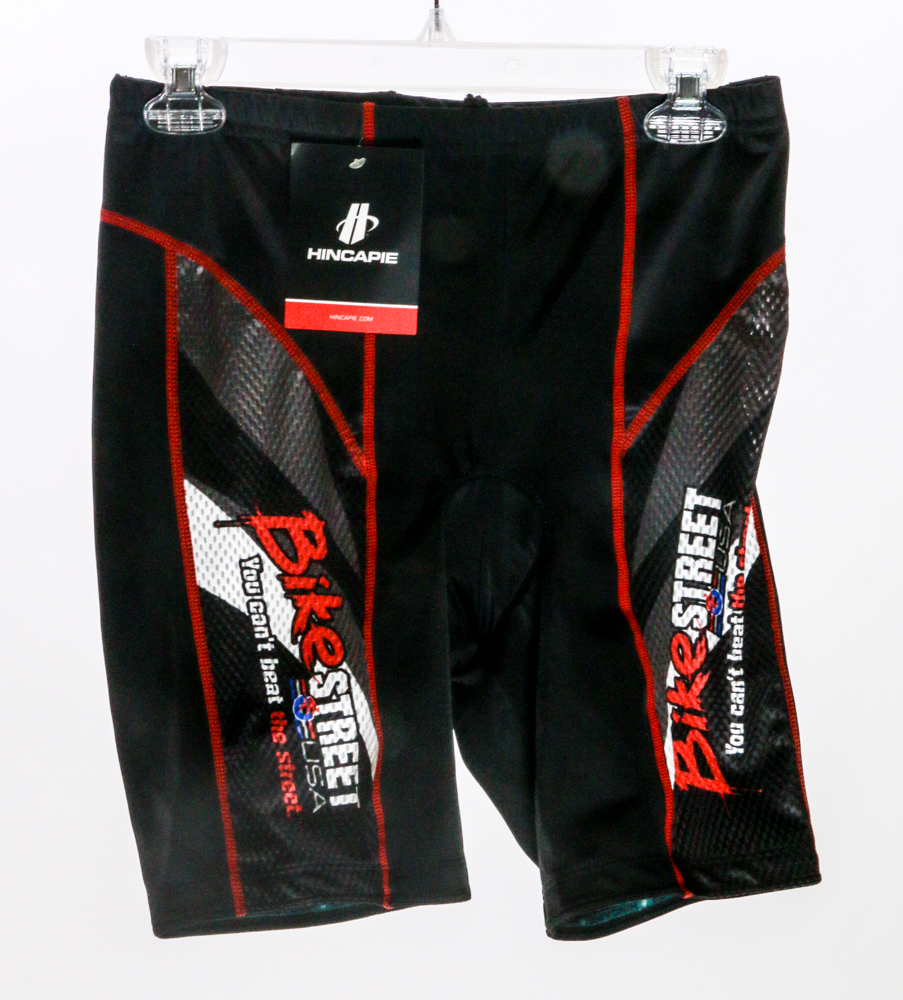 Size Small Womens Hincapie Fluid Triathlon Road Cycling Shorts Red   Black New by