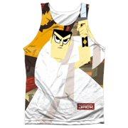 Samurai Jack Eternal Foes (Front Back Print) Mens Sublimation Tank Top Shirt