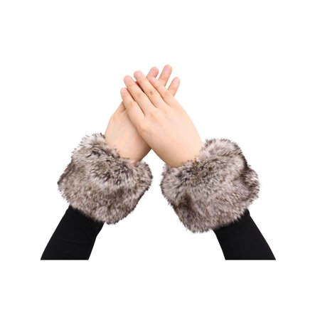 Simplicity Women's Clothing Accessories, Faux Fur Cuffs, 1 pair, Fur - New Simplicity Clothes