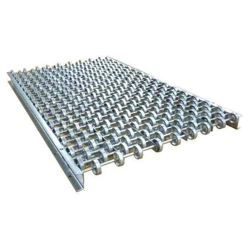 ASHLAND CONVEYOR 18X32X90GSQ Skate Wheel Conveyor, 18Inx, Curved , Steel