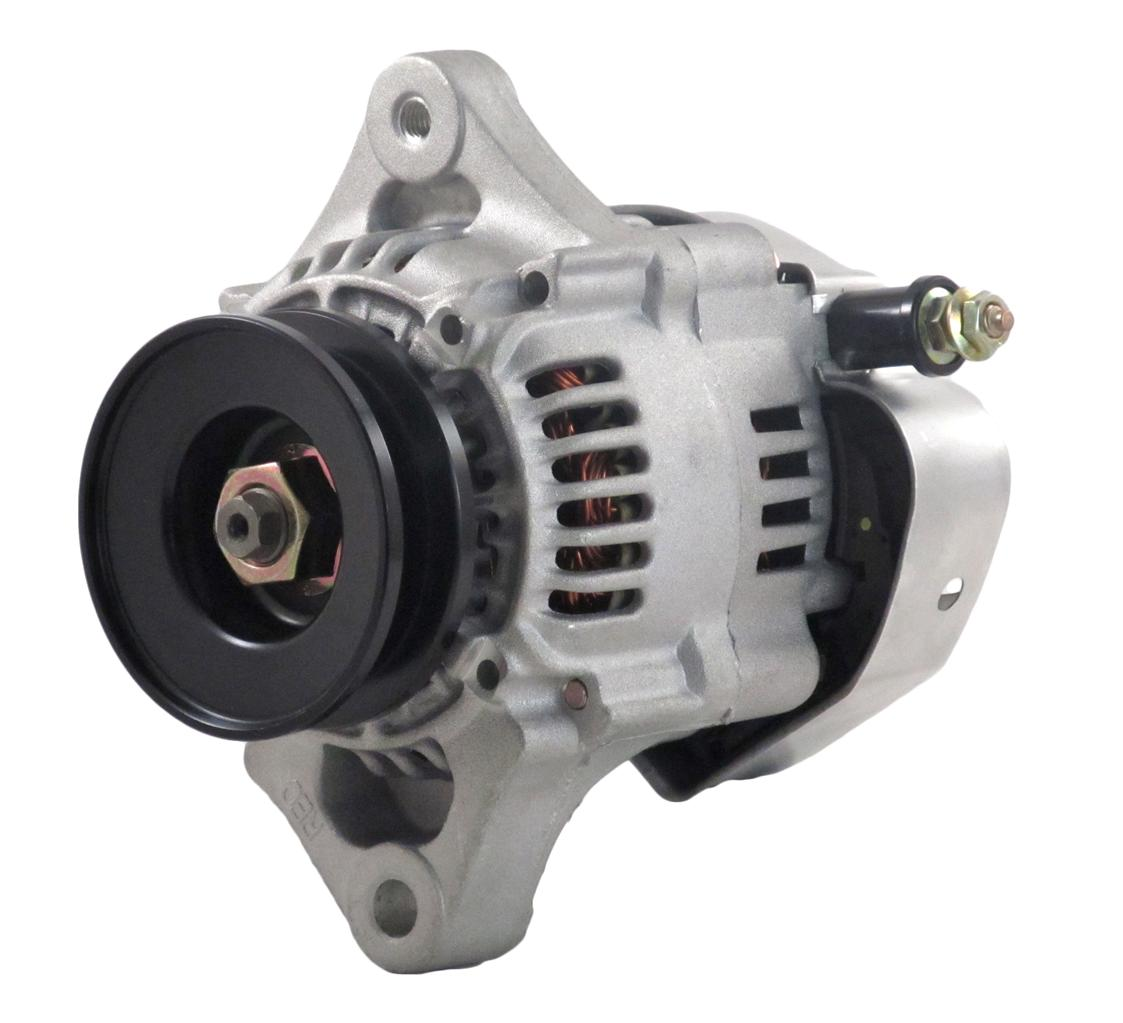 New 40 Amp Chevy Mini Alternator Fits 8162 Type Denso Street Rod One Wire Diagram Race 1 Richmond