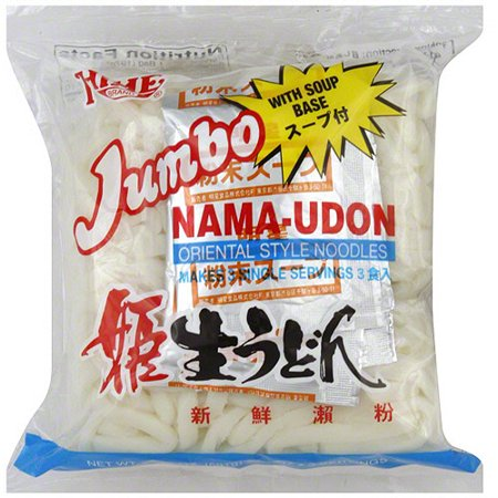 Hime Brand Jumbo Nama Udon Oriental Style Noodles, 20.82 oz (Pack of 12)](Oriental Noodles)