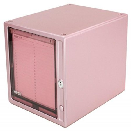 Hipce One Touch 80 CD/DVD Storage Box (Metallic Pink) (80 Punk)