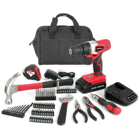 Hyper Tough 20-Volt Max Lithium Ion Drill With 70-Piece Project Kit