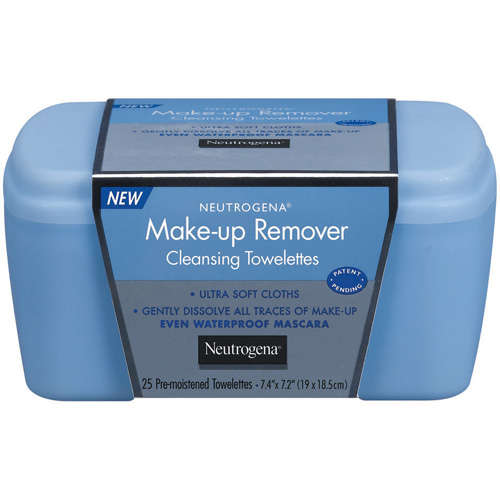 Neutrogena(R) Vanity Make-Up Remover Cleansing Towelettes 25 Ct