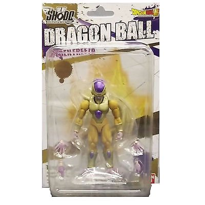 Bandai Shokugan Shodo Dragon Ball Z Super Gold / Golden Frieza Action Figure