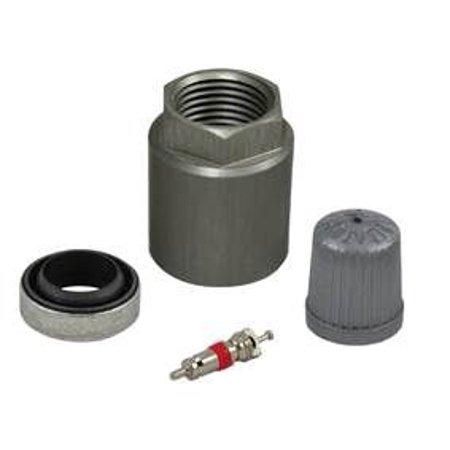 Huf TPMS 2216 Tire Pressure Monitoring System - TPMS Sensor Service Kit IntelliSens With Valve Core/ Hex Nut/ Rubber Grommet/ Valve Stem Cap; Single - image 1 de 1