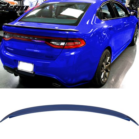 Compatible with 13-16 Dart OE Factory Flush Trunk Spoiler Aero Wing #PCL Blue Streak Pearl ()