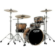PDP by DW Concept Birch 4-Piece Shell Pack Natural to Charcoal Fade