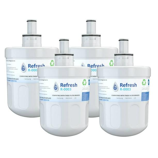 Replacement For Samsung Da29 00003g Aqua Pure Plus Da29 00003b Hafcu1 Refrigerator Water Filter 4 Pack Walmart Com Walmart Com