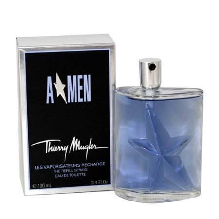 Angel Men By Thierry Mugler For Men. Eau De Toilette Spray 3.4 Oz (Refill). Eau De Toilette Refill