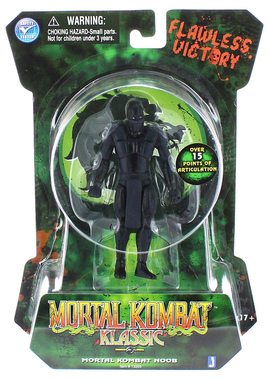 Mortal Kombat MK2 Classic Ninja 4 Inch Action Figure Noob Saibot