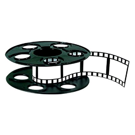 Beistle Movie Reel Centerpiece with Extendable Filmstrip, 1 count