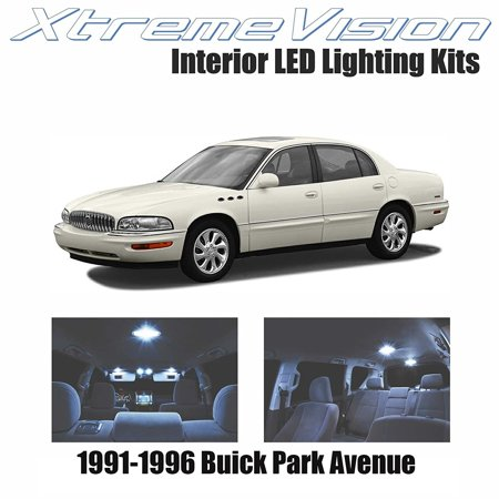 (XtremeVision LED for Buick Park Avenue 1991-1996 (20 Pieces) Cool White Premium Interior LED Kit Package + Installation Tool)