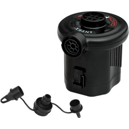 Fast Fill Electric Air Pump - Intex Quick-Fill Battery Air Pump, 13.4CFM Max. Air Flow