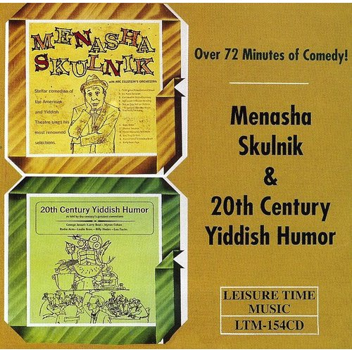 Menasha Skulnik & 20Th Century Yiddish Humor