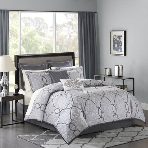 Home Essence Octavia Jacquard Bed in a Bag Comforter Bedding Set