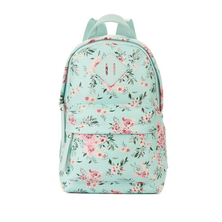 No Boundaries Mint Floral Mini Dome Backpack Option - Floral Lace Backpack