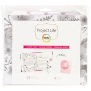 "Project Life 6"" x 8"" Planner Filler Pack 71pc-Journal Edition"