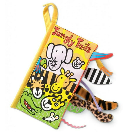JellyCat Jungly Tails Soft Book (Jellycat Tails)
