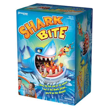 Shark Bite Game - Candyland Gameboard