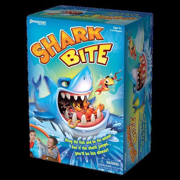 Pressman Shark Bite Game Ages 4 Walmart Com Walmart Com