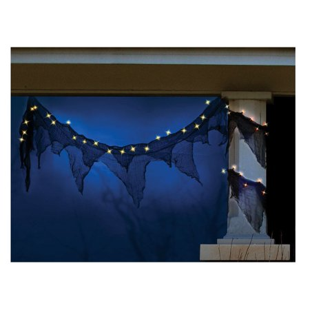 Celebrations H560AE12 Spooky Garland Halloween Light, 11' L - Celebration Florida Halloween