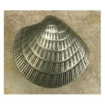 Sm. Clam Shell knob (Set of 10) (Antique Bronze)