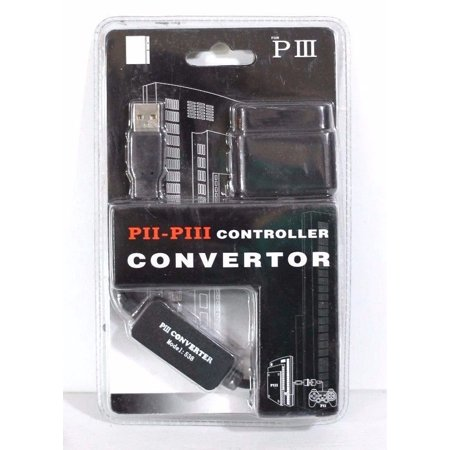 Controller Converter Adapter for A PlayStation 2 (PS2) Controller to  PlayStation 3 (PS3) and PC Controller