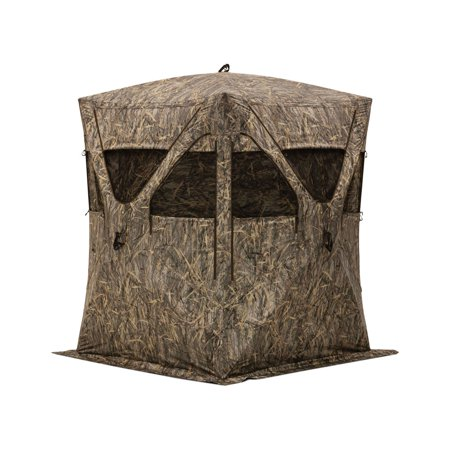 Barronett Big Mike Blades Large Portable Ground Camouflage Bow Hunting (Best Ground Blind For Bowhunting)