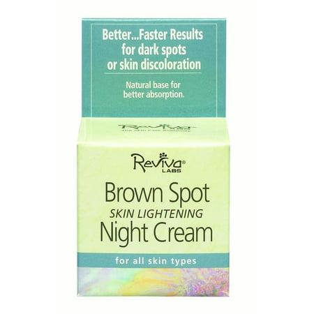 Reviva® Labs Brightening Brown Spot Brightening Night Créme 1.5 oz. Box