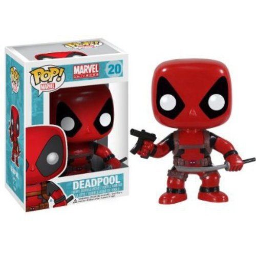 FUNKO Pop! Marvel Deadpool Vinyl Bobble Head Figure