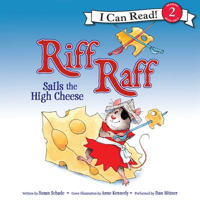 Riff Raff Sails the High Cheese - Audiobook