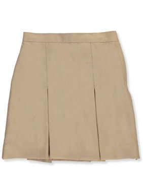 Cookie's Brand Little Girls' Pleated Side Button Skirt (Sizes 3 - 6X) - khaki, 6
