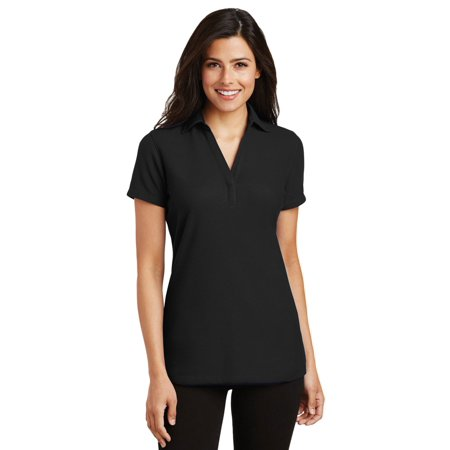 Silk Blend Camp Shirt - Port Authority Women's Silk Touch Polo Shirt